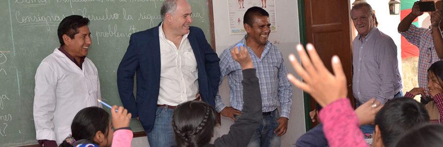 Marocco y Cánepa recorrieron comunidades educativas de la Puna salteña