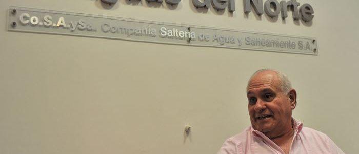 Garcia Salado «Aguas del Norte no es una Unidad de negocio, sino una Unidad de Servicio, es esencial»