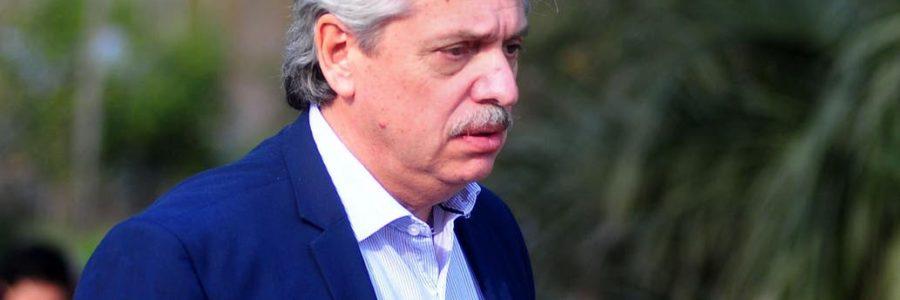 Alberto Fernández reiteró su compromiso con la legalización del aborto pero dijo que ahora «urgen otros temas»
