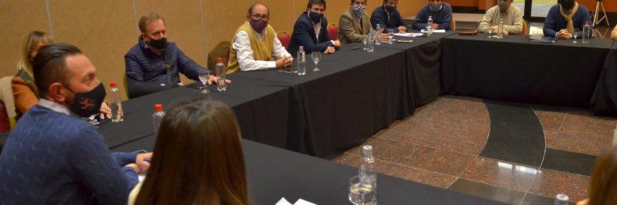 Reunión con diputados provinciales por el plan Mi Lote