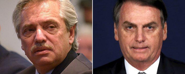 """La carta de Alberto Fernández a Jair Bolsonaro tras confirmarse que tiene coronavirus: """"Quiero expresar mis deseos de que muy pronto se recupere"""""""