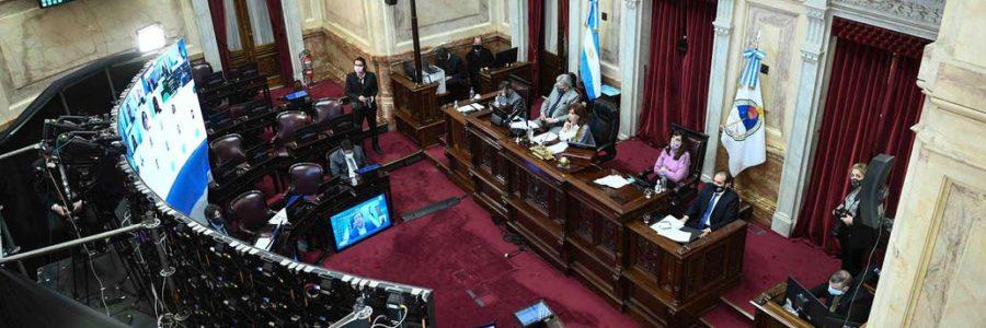 Por unanimidad, el Senado dio media sanción al proyecto de reestructuración de la deuda local en dólares