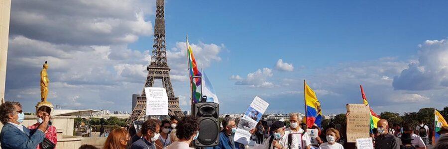 Ciudadanos argentinos residentes en Francia repudian la presencia de Macri en París