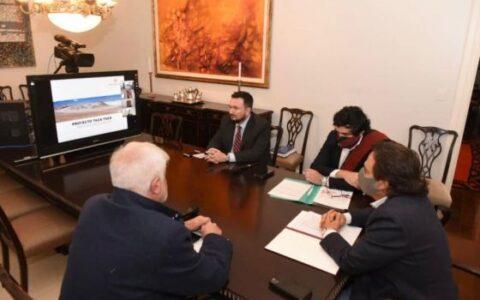 El gobernador Sáenz se reunió con directivos de la minera canadiense First Quantum Minerals